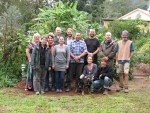 The group finished their Permaculture Design Course early June 2012.