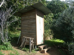 Another Permaculture initiative at PRI Sunshine Coast: the outhouse!