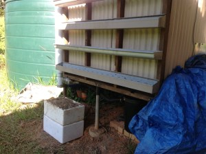 As part of the Permaculture Research Institute Sunshine Coast Urban Focus Internship our interns built these planter boxes for vertical gardening.