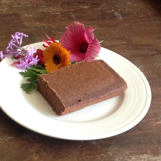 A sprouted buckwheat chocolate cake cookfoodforhealth.com