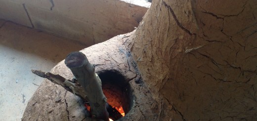 Cooking chilli sauce on the rocket stove