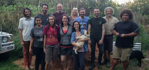 Permaculture Design Certificate course group September 2016