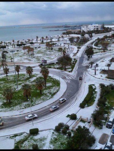 La neve in Libia