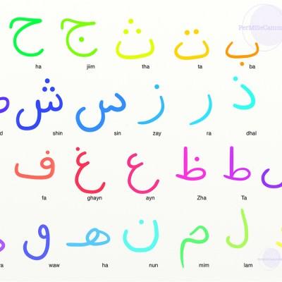 L'arabo per bambini: l'alfabeto