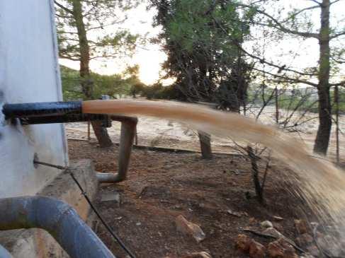 Πρόβλημα θολότητας του νερού στη Δ.Ε. Θεσπιών(ΦΩΤΟ)