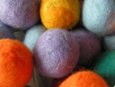 Wet Felted Cat Toys