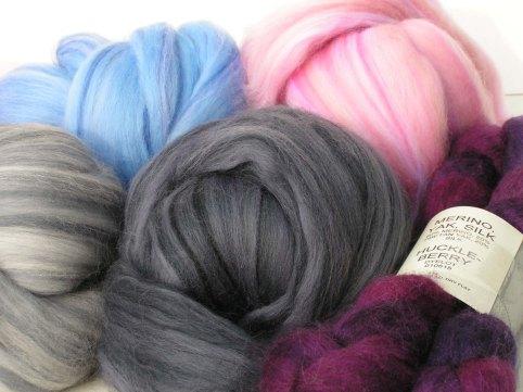 Wool from Big Sky Fiber Arts
