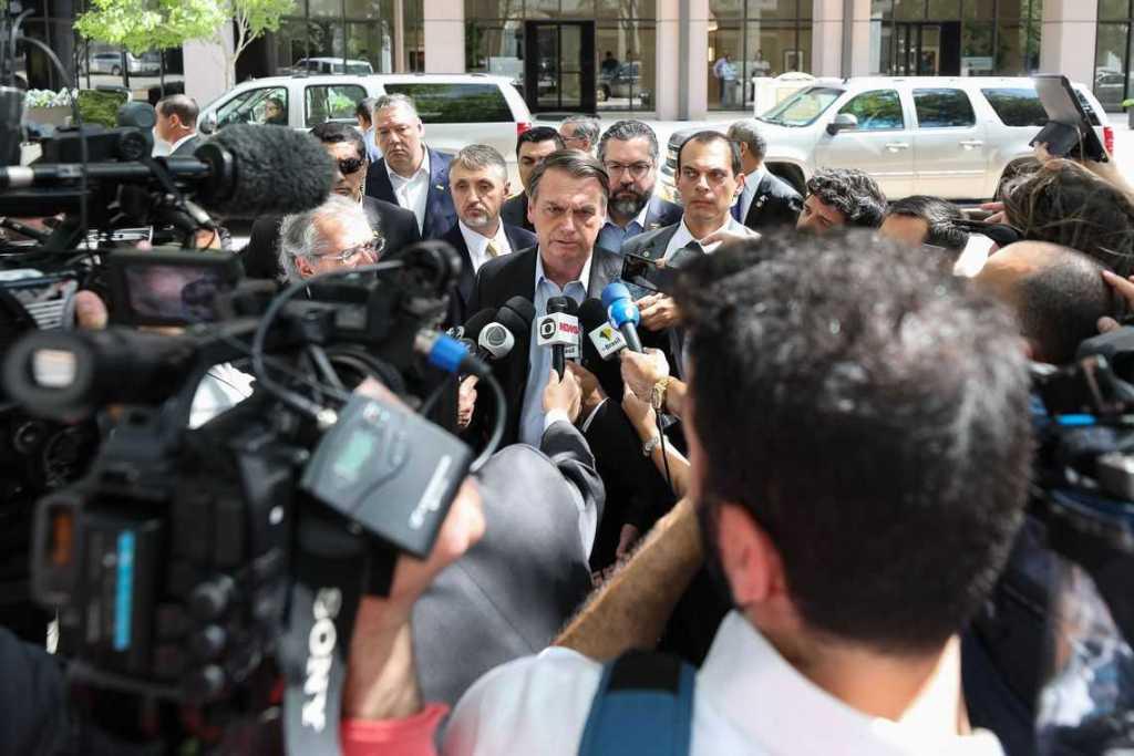 Nos EUA, Bolsonaro se diz preocupado com eleições argentinas Pernambuco Notícias