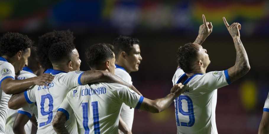 Com triunfo sobre a Bolívia, Brasil chega à 100ª vitória na Copa América