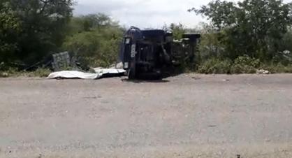 Hoje: Rodovia da morta PE-160 mata mais uma pessoa em Santa Cruz