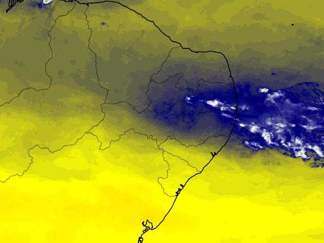 Tempestade ameaça Recife e Maceió nesta segunda-feira (17)