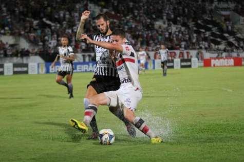 SORTE: Santa Cruz empata com o Botafogo da Paraíba nos últimos minutos de jogo