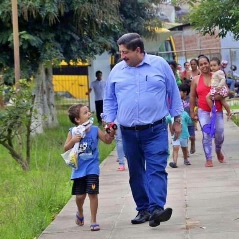 Joaquim Neto, um prefeito admirado pelas crianças