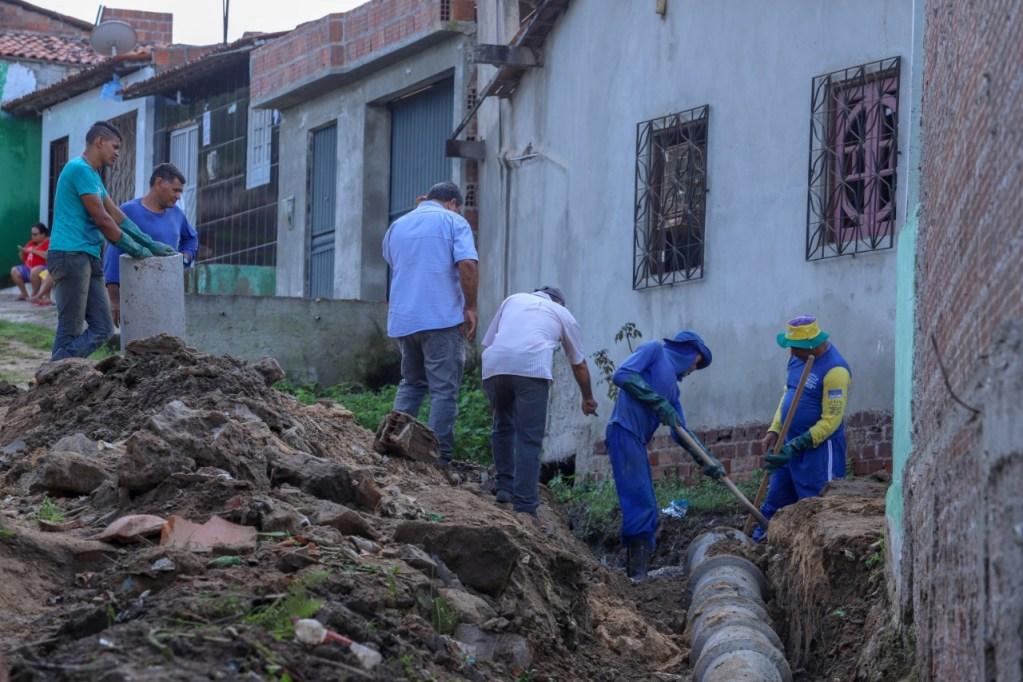 GRAVATÁ: Loteamento Nossa Senhora da Conceição recebe obra de saneamento básico