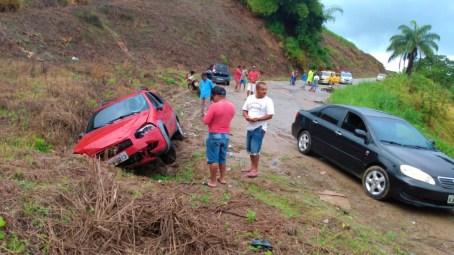 Acidente com vítima fatal em estrada que dá acesso a Sirinhaém