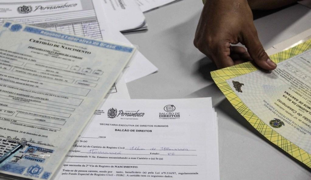 Governo de Pernambuco fornece serviço de averbação de divórcio gratuitamente à população