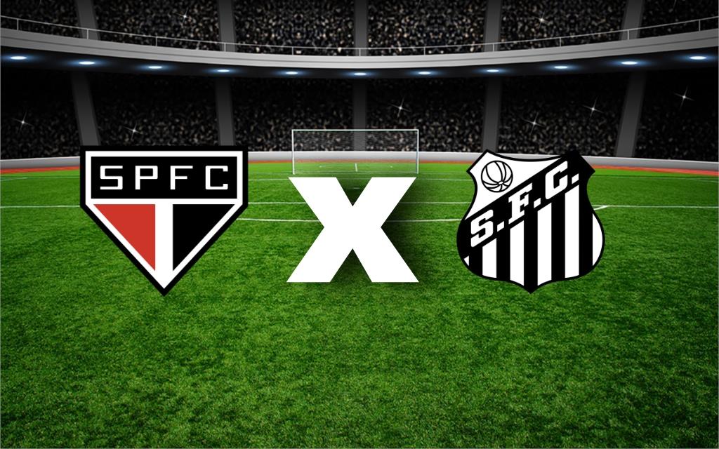 São Paulo x Santos se enfrentam hoje pelo Campeonato Brasileiro