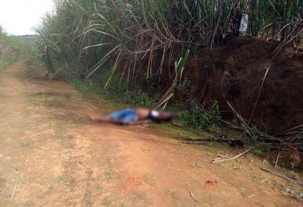 Homicídio registrado na manhã de hoje (29) na zona rural de Palmares