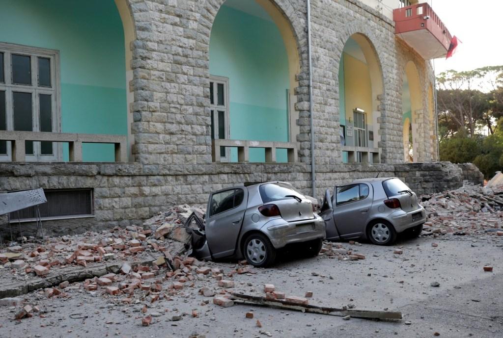 SUSTO: Terremoto na Albânia deixa 40 pessoas feridas