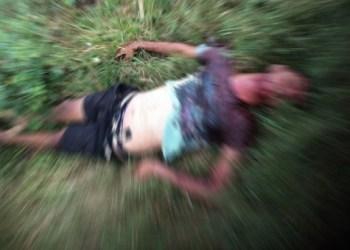 Homem morto a tiros na frente de casa em São Bento do Una