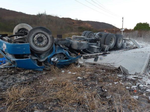 Acidente com vítima fatal registrado na Serra das Russas