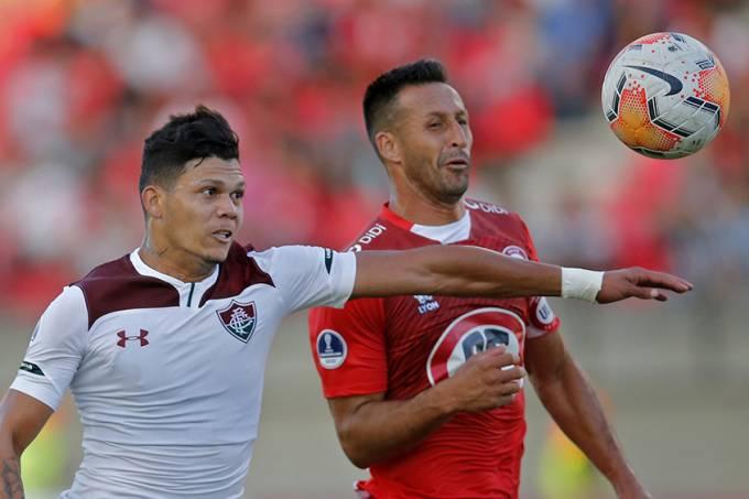Vexame: Fluminense deixa Copa Sul-Americana após empate com Unión La Calera