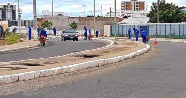 Reeducandos ajudam na obra de hospital de campanha e na desinfecção das Caixas de Petrolina