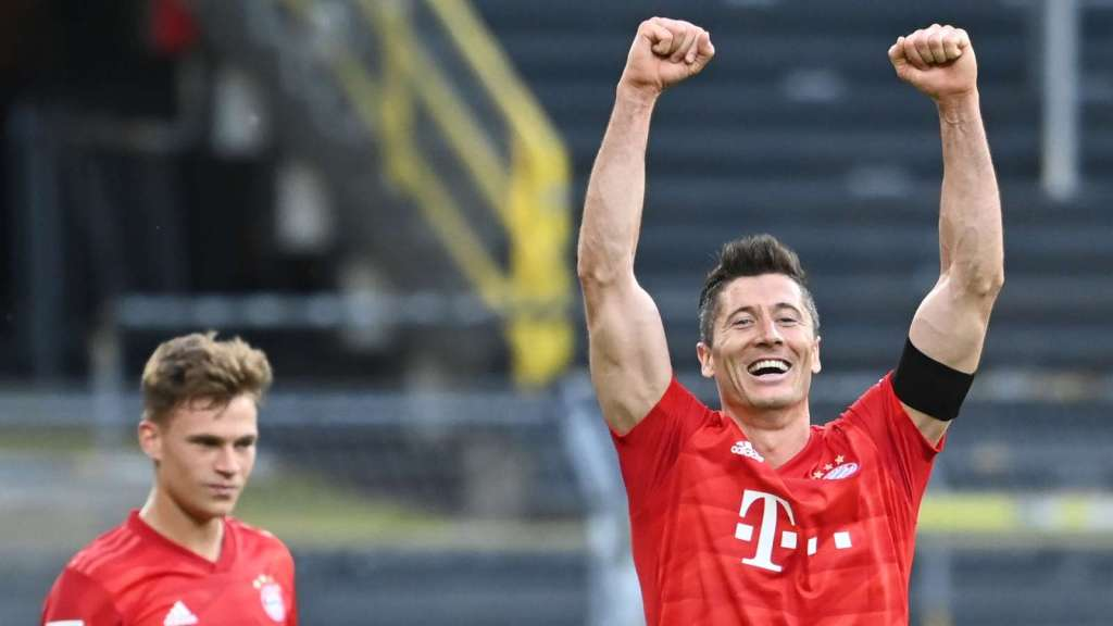 Bayern München vence por 5x0 o Düsseldorf