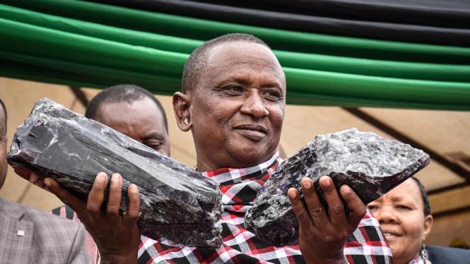 Homem encontra duas pedras de tanzanita e se torna milionário