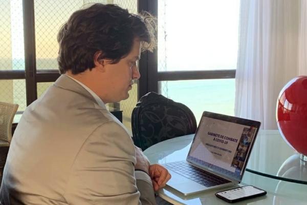 Deputado Lucas Ramos reforça ações de combate ao coronavírus em Petrolina