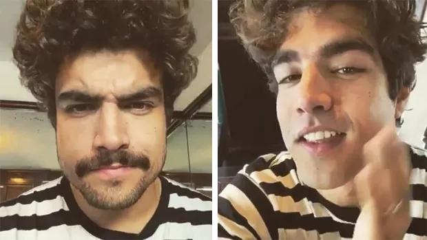 Caio Castro tira a barba e o bigode e novo visual surpreende fãs