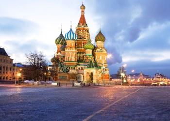 The Cathedral of Intercession of Theotokos on the Moat, popularly also called Saint Basil's Cathedral is a Russian Orthodox Church located on the red square in Moscow. Widely known monument of Russian architecture.