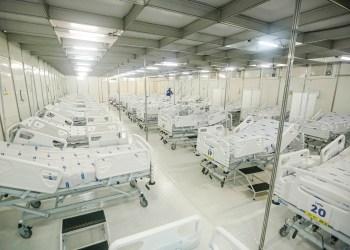 PE - RECIFE - 31/03/2020 - Geraldo anuncia 163 novos leitos para pacientes com Covid-19 nas policlínicas do Recife