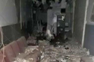 Criminosos explodem posto do banco Bradesco no interior de Pernambuco