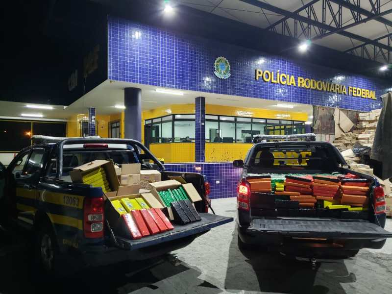 PRF apreende mais de uma tonelada de maconha no Sertão de Alagoas