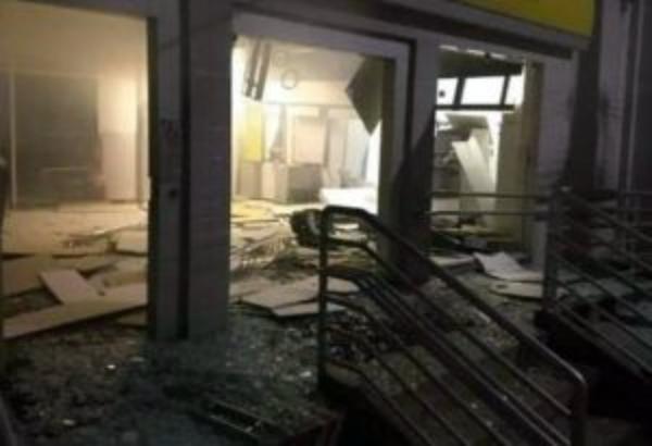 Criminosos explodem agência do Banco do Brasil em Afrânio