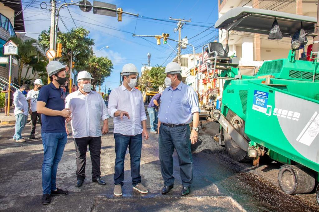 Gravatá: Eduardo da Fonte parabeniza Joaquim Neto pela recuperação de ruas e avenidas