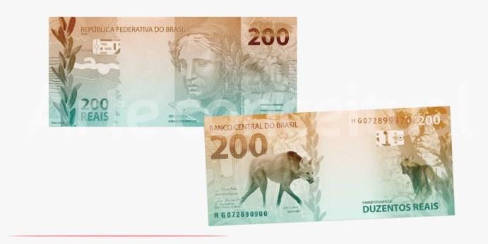 Banco Central lança hoje nota de R$ 200 reais; veja dicas de segurança