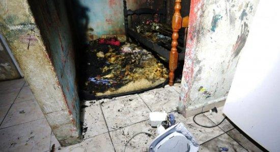 Recife: Duas crianças morrem após incêndio no quarto onde dormiam