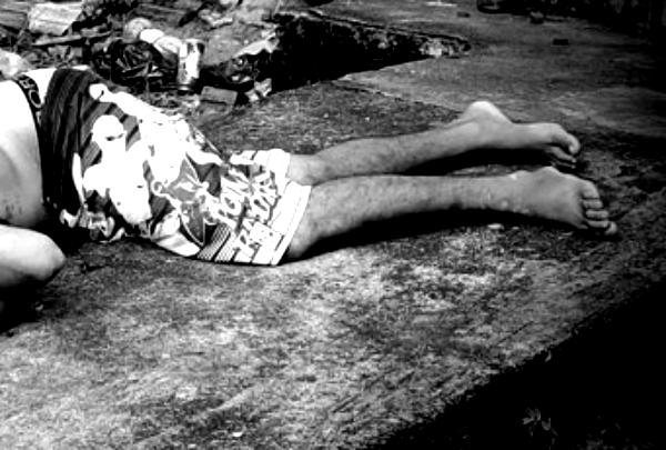 Rapaz arrastado pra morte em Catende