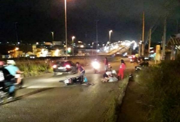 Gravatá: Acidente na via local da BR-232 deixa três pessoas feridas