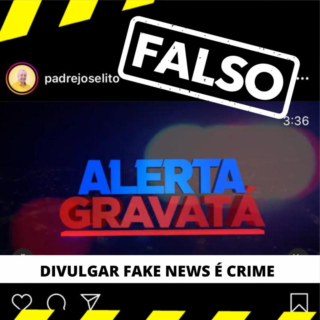 FAKE NEWS! Ex-padre Joselito é obrigado pela justiça a retirar postagem mentirosa das redes sociais