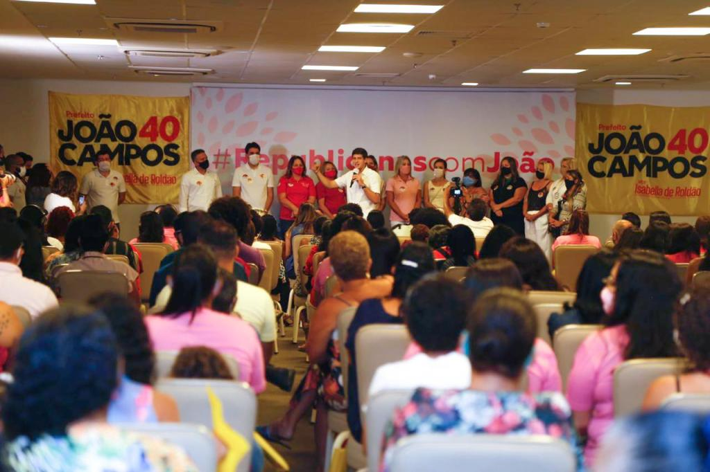 Mulheres Republicanas declaram apoio a João Campos e apresentam sugestões para o Recife