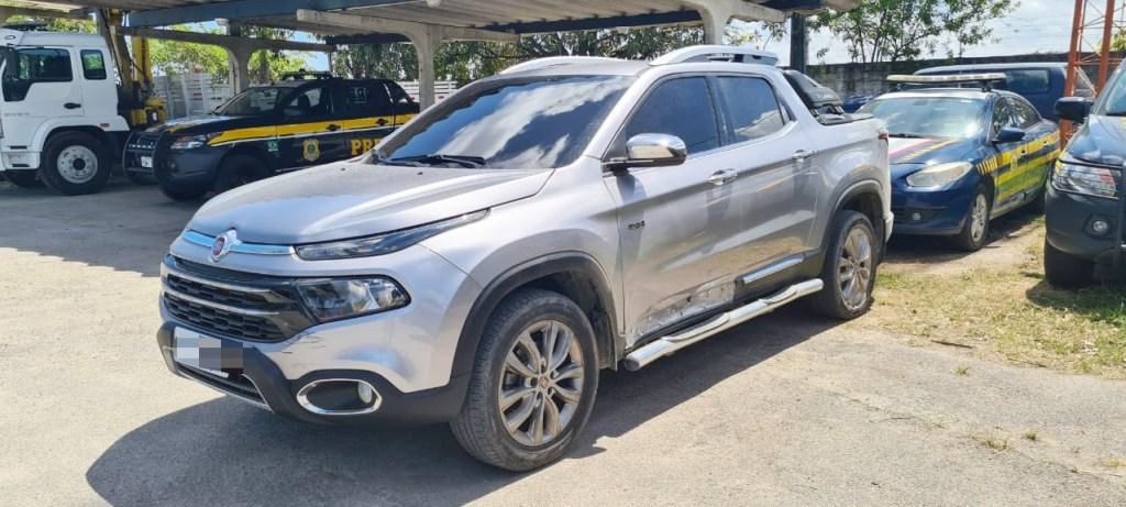 Caminhonete roubada é recuperada após fuga de 6 Km na Zona Sul do Recife
