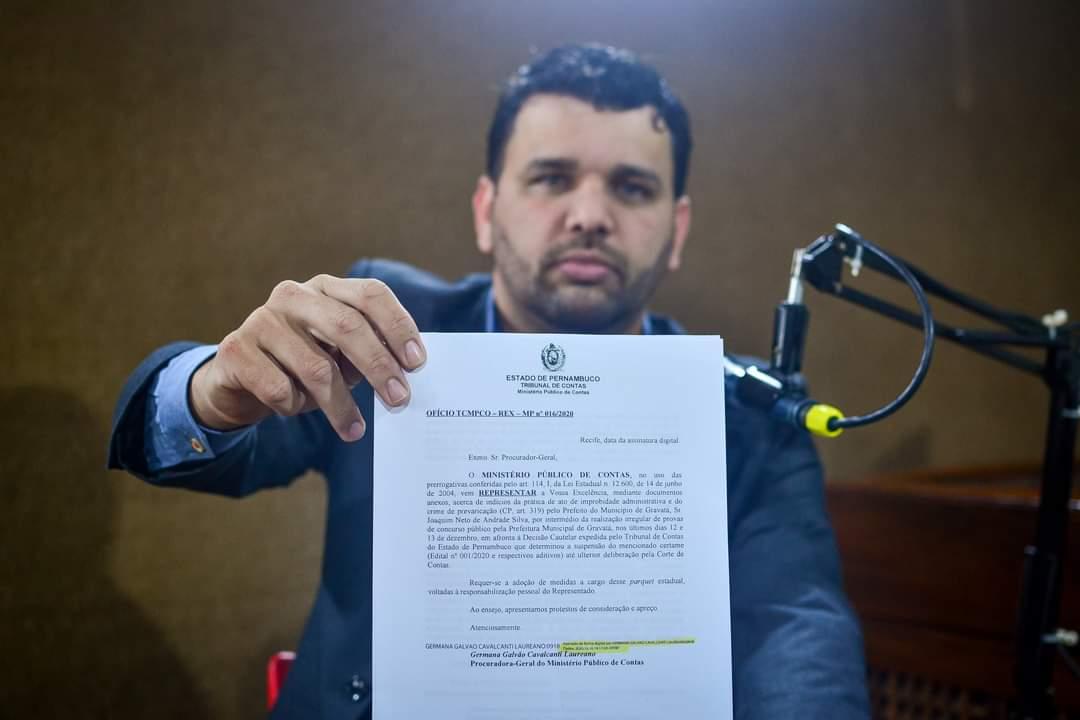 Advogado afirma que concurso público de Gravatá é 'nulo' e não terá validade