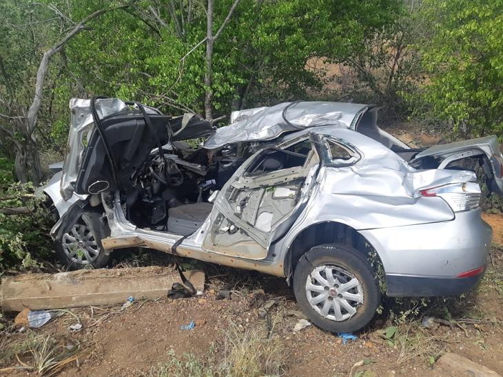 Duas pessoas morrem em grave acidente de carro no interior de Pernambuco