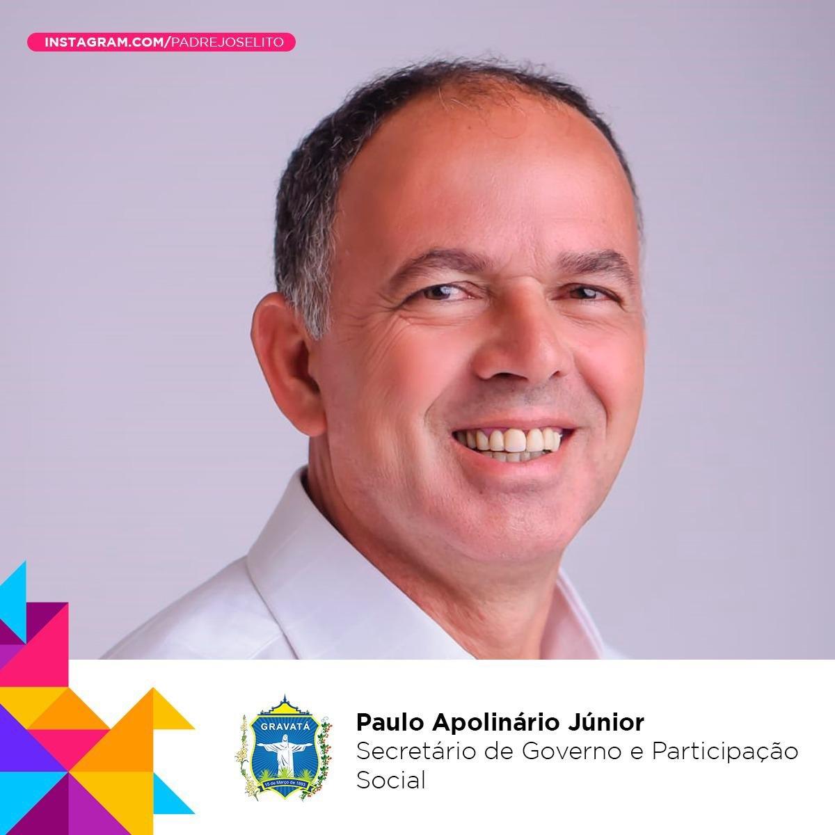 Júnior de Paulo se torna secretário de Governo, e site acerta novamente