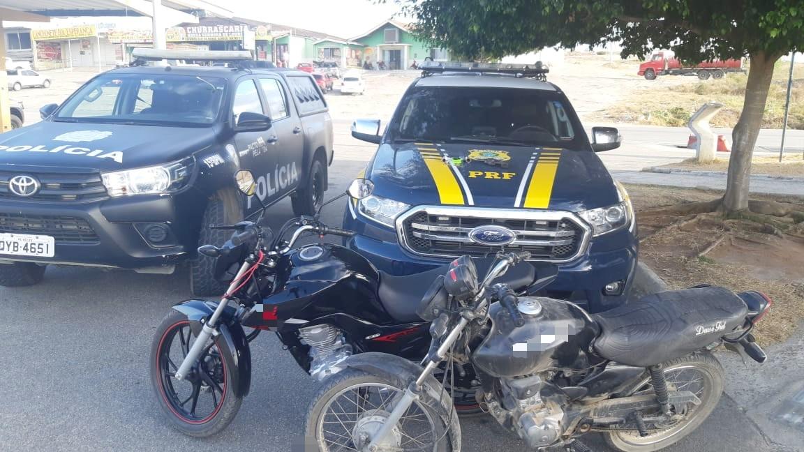 Adolescente e jovem são apreendidos com motos roubadas em São Caetano