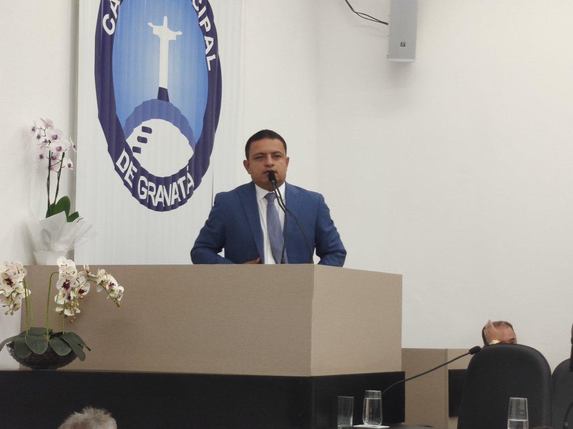 Leo do ar reeleito presidente da Câmara Municipal de Gravatá