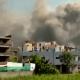 Prédio que produz vacinas contra COVID-19 é atingido por incêndio